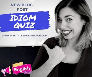 Idiom Quiz